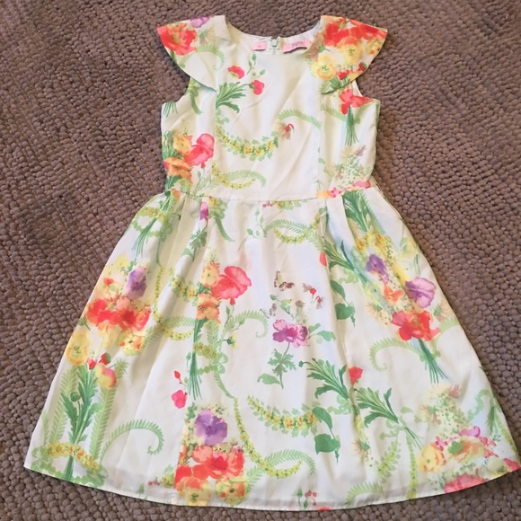 5bcc8b270 Baker by Ted Baker Other - Beautiful Ted Baker Aqua Floral Girl s Dress